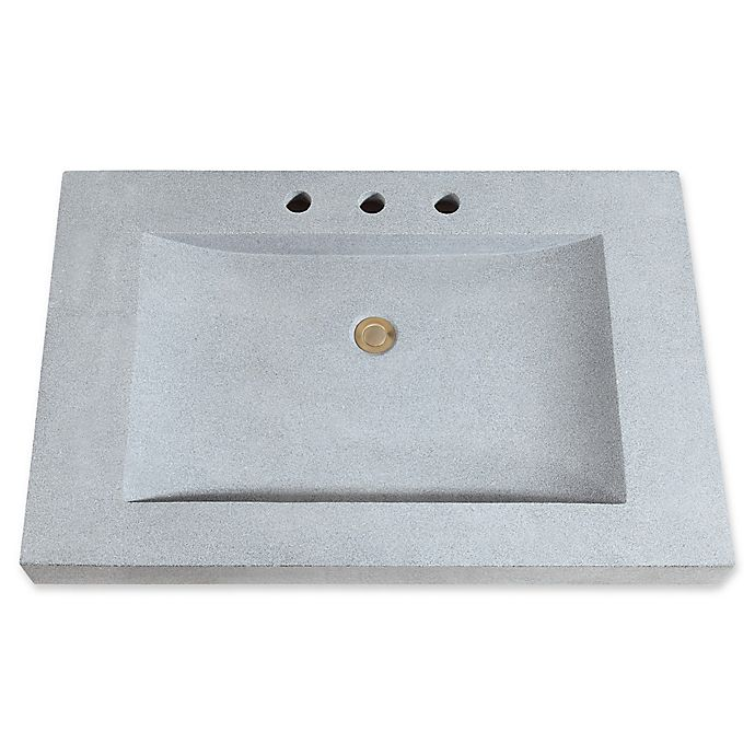 Alternate image 1 for Avanity 33-Inch Stone Vanity Top with Integrated Sink