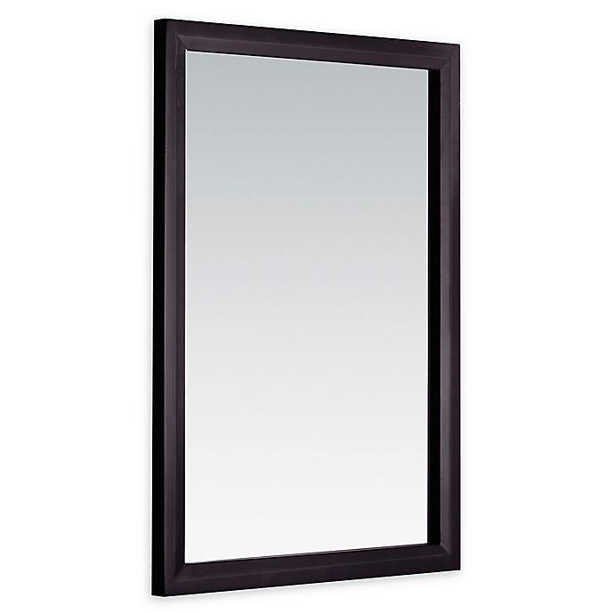Alternate image 1 for Simpli Home Urban Loft Vanity Mirror in Dark Espresso