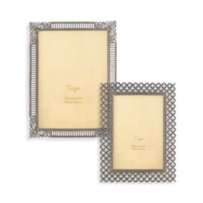 Tizo Crystal Jeweled Border Picture Frames Bed Bath Amp Beyond