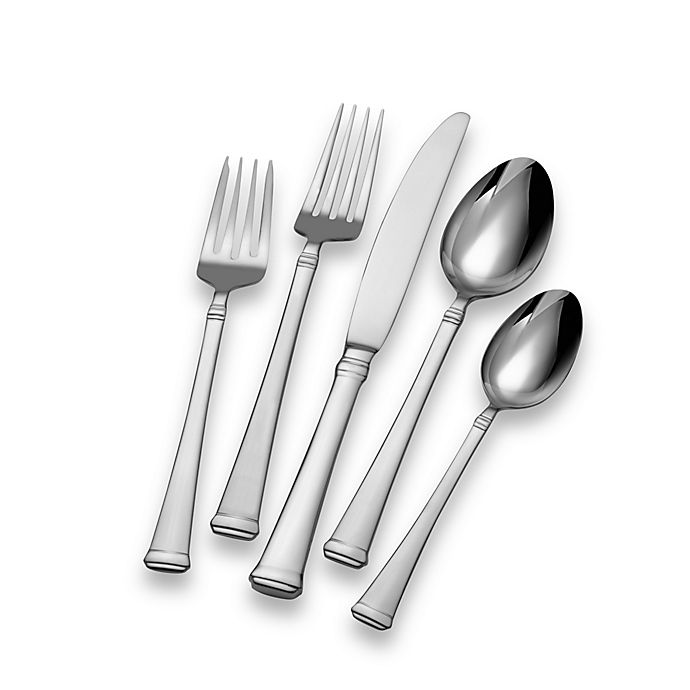 Alternate image 1 for Mikasa® Harmony 65-Piece Flatware Set