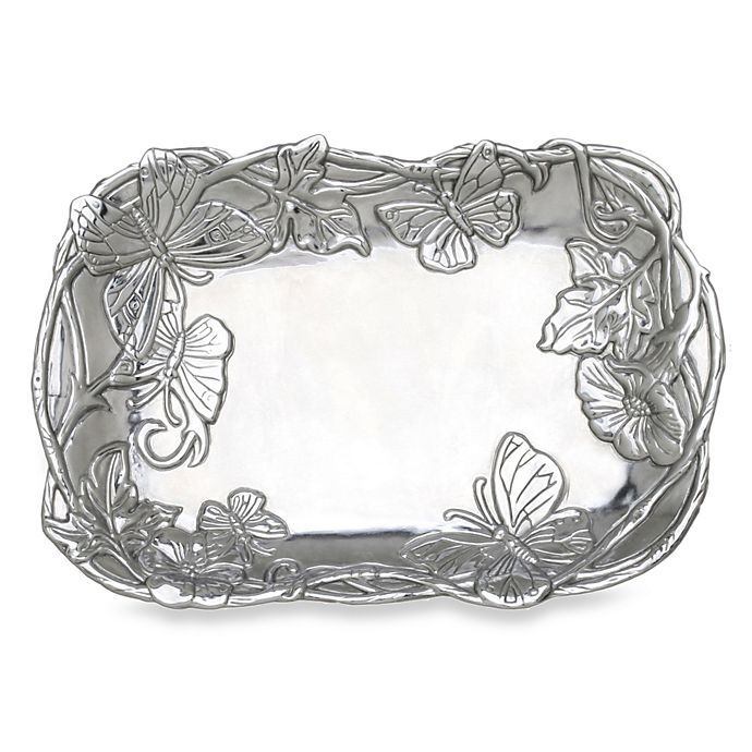 Alternate image 1 for Arthur Court Designs Butterfly 9.5-Inch Catch All Tray