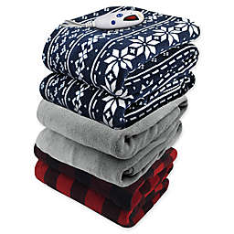 Biddeford® Microplush Digital Heated Throw