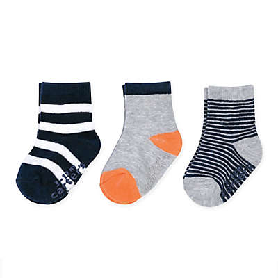 carter's® 3-Pack Stripe Crew Socks