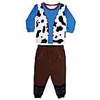 Sozo® Size 3T 2-Piece Cowboy Pajama in Blue/Brown