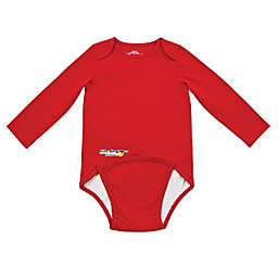 EZ-On BaBeez™ Long Sleeve Bodysuit in Red