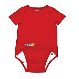 EZ-On BaBeez™ Short Sleeve Bodysuit in Red