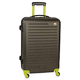 Nautica® Tide Beach Hardside Spinner Checked Luggage
