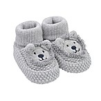 carter's® Newborn Lion Booties in Grey