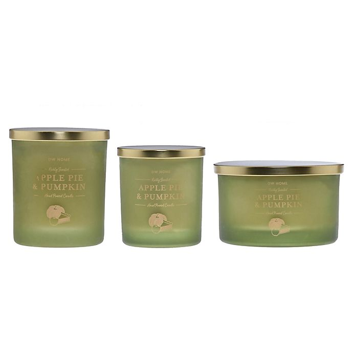 Alternate image 1 for DW Home Apple Pie & Pumpkin Jar Candle Collection