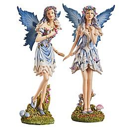 Design Toscano Windforest Fairies Statue (Set of 2)