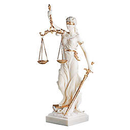 Design Toscano Themis Blind Justice Bonded Marble Statue