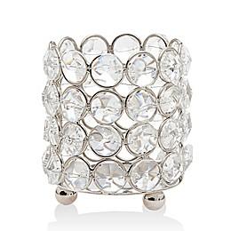 Godinger Deco Crystal Tealight Candle Holder