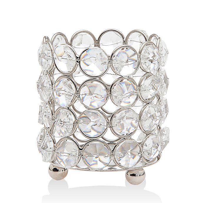Alternate image 1 for Godinger Deco Crystal Tealight Candle Holder