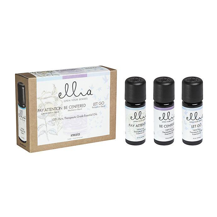 Alternate image 1 for Ellia™ Calm and Concentration 3-Piece Essential Oils Set