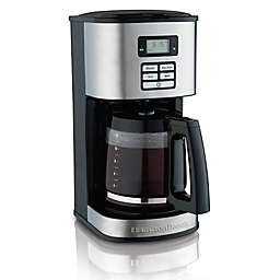 Hamilton Beach® 12-Cup Programmable Coffee Maker in Black