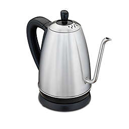 Hamilton Beach® 1.2-Liter Cordless Electric Gooseneck Kettle in Black