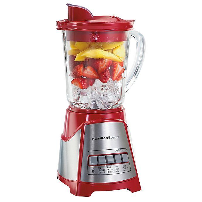 Alternate image 1 for Hamilton Beach® ensemble™ Multi-Function Blender in Red