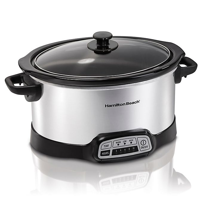 Alternate image 1 for Hamilton Beach® Programmable 6 qt. Slow Cooker