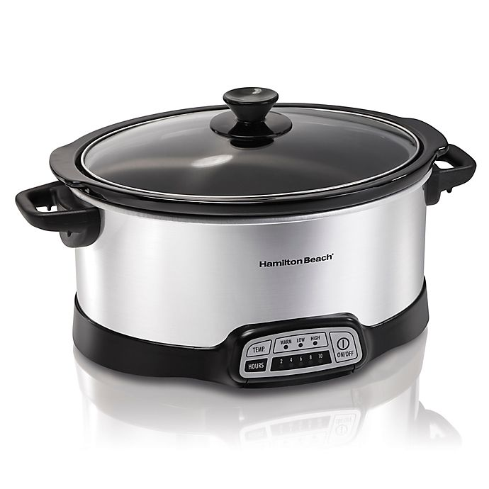 Alternate image 1 for Hamilton Beach® Programmable 7 qt. Slow Cooker