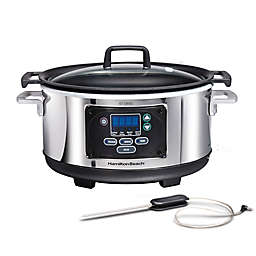Hamilton Beach® Programmable Set & Forget® 6 qt. Slow Cooker