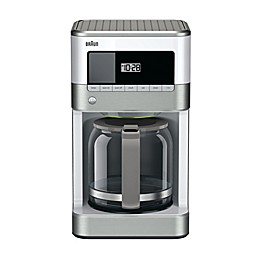 Braun BrewSense 12-Cup Drip Coffee Maker in White