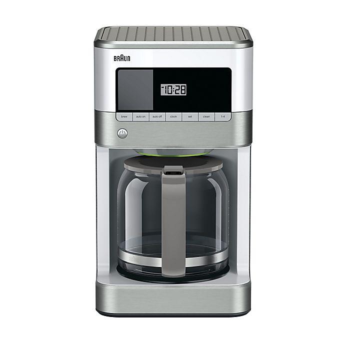 Alternate image 1 for Braun BrewSense 12-Cup Drip Coffee Maker in White