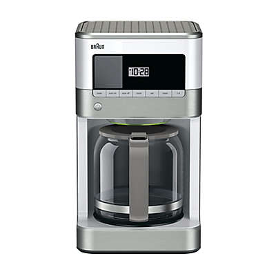 Braun BrewSense 12-Cup Drip Coffee Maker in White