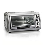 Hamilton Beach® Easy Reach™ 6-Slice Toaster Oven with Roll-Top Door