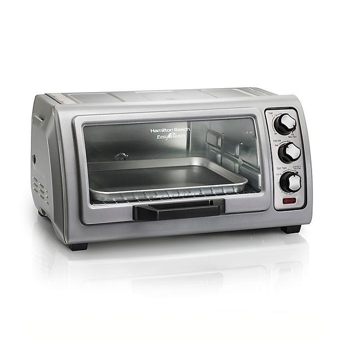 Hamilton Beach 174 Easy Reach 6 Slice Toaster Oven With Roll