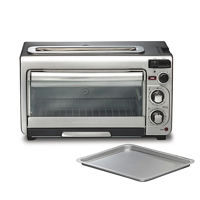 Alternate image 1 for Hamilton Beach® 2-in-1 Oven and Toaster