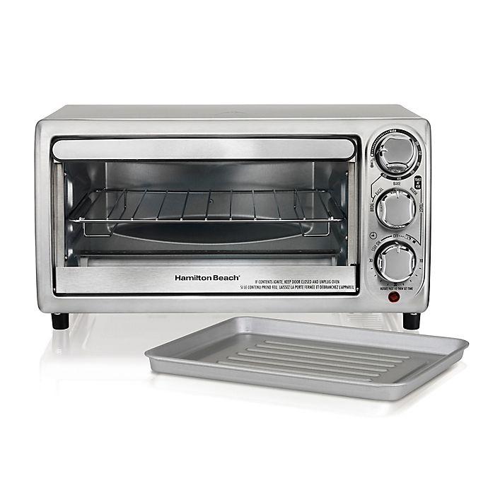 Alternate image 1 for Hamilton Beach® Toaster Oven