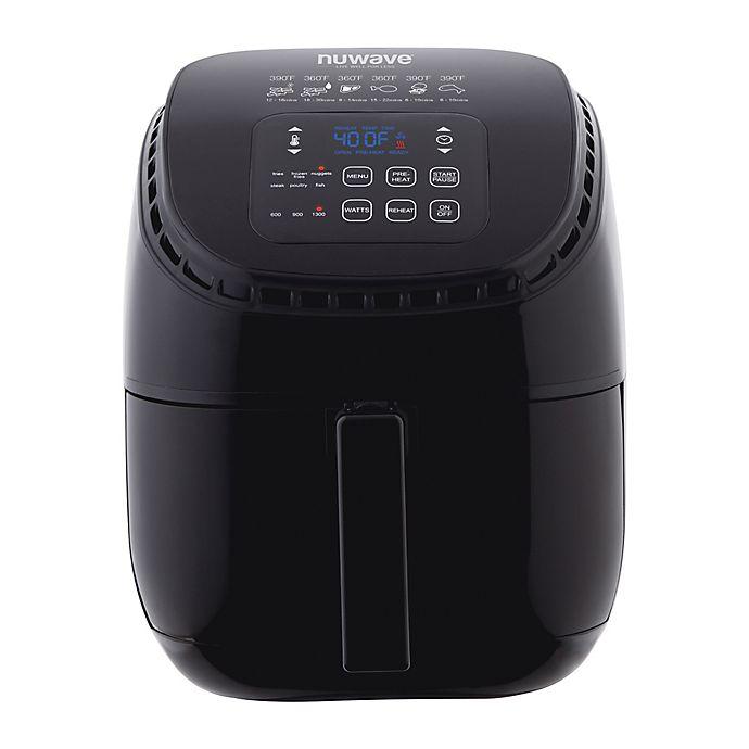 Alternate image 1 for NuWave® Brio 3 qt. Digital Air Fryer in Black