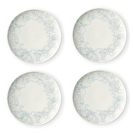 ED Ellen DeGeneres Crafted by Royal Doulton® Polar Blue Animals Salad Plates (Set of 4)