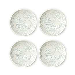 ED Ellen DeGeneres Crafted by Royal Doulton® Polar Blue Animals Tidbit Plates (Set of 4)