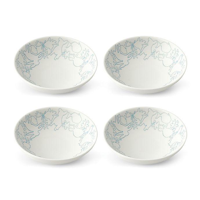 Alternate image 1 for ED Ellen DeGeneres Crafted by Royal Doulton® Polar Blue Animals Bowl (Set of 4)