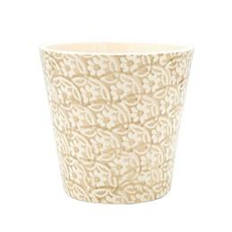 Euro Ceramica Chloe Accent Planter in Beige
