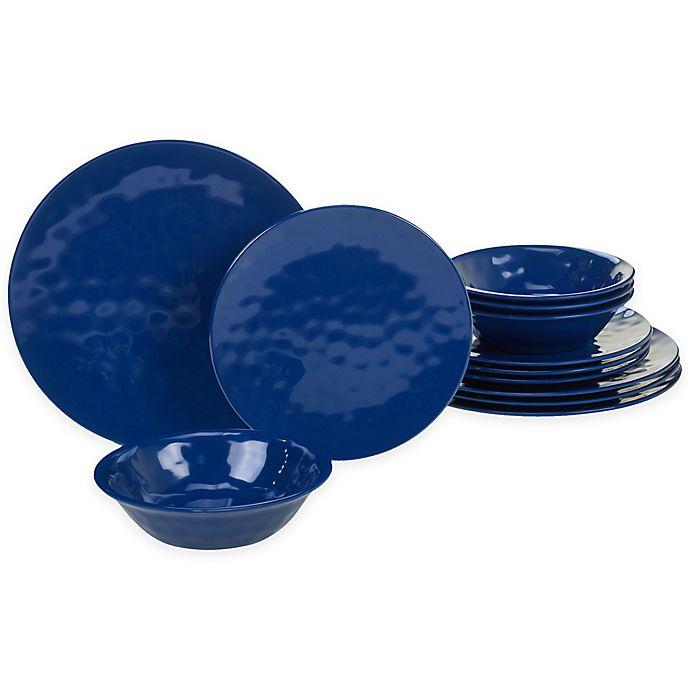 Alternate image 1 for Certified International 12-Piece Melamine Dinnerware Set
