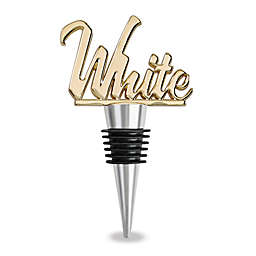 Wild Eye Designs White Wine Stopper in Gold