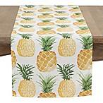 Saro Lifestyle 72-Inch Pineapple Table Runner