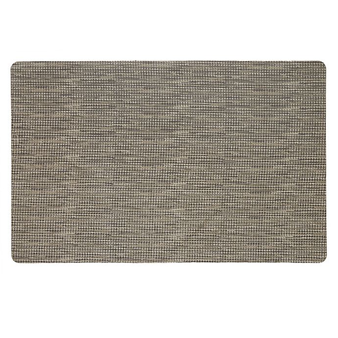 Alternate image 1 for Mohawk Home® Micro Elegance Houndstooth Kitchen Mat in Grey