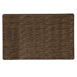 Mohawk Home® Micro Elegance Houndstooth Kitchen Mat in Brown