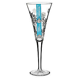 Waterford® 2018 Snowflake Wishes for Happiness Champagne Flute