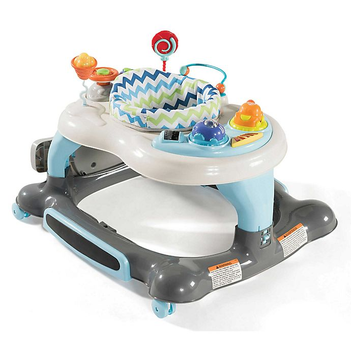 Alternate image 1 for Storkcraft 3-in-1 Activity Walker with Jumping Board and Feeding Tray