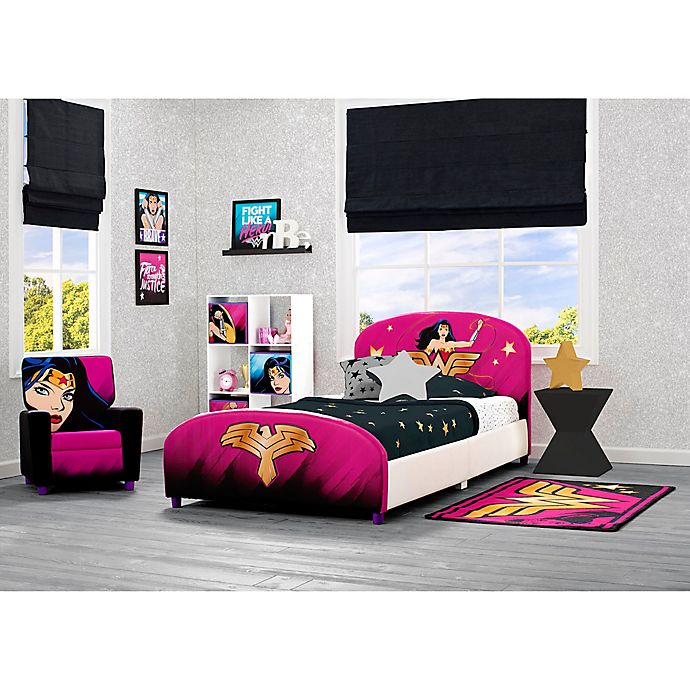 Alternate image 1 for Wonder Woman Child's Bedroom Upholstered Furniture Collection
