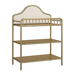Little Seeds Piper Metal Changing Table in Gold