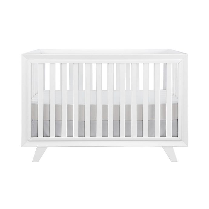 Alternate image 1 for Karla Dubois® Wooster 3-in-1 Convertible Crib in Pure White