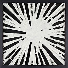Marmont Hill White Burst Paper Art