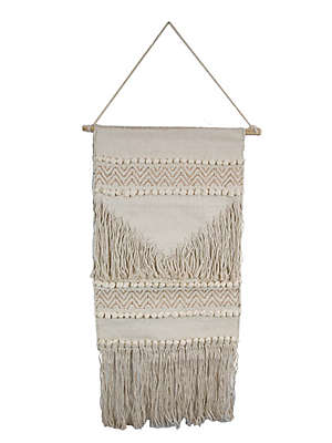 Marmont Hill Simple Macrame 16-Inch x 32-Inch Wall Hanging