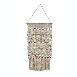 Marmont Hill Colorful Macrame 16-Inch x 32-Inch Wall Hanging