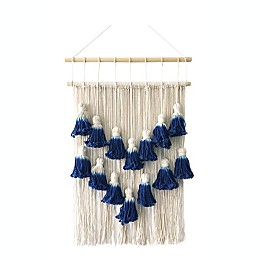 Marmont Hill Layered Macrame 20-Inch x 27-Inch Wall Hanging